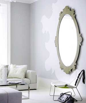Decorating with gray real simple gray room with art on walls sisterspd