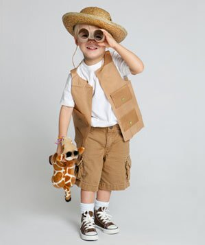 Easy diy halloween costumes real simple safari costume kid solutioingenieria Images