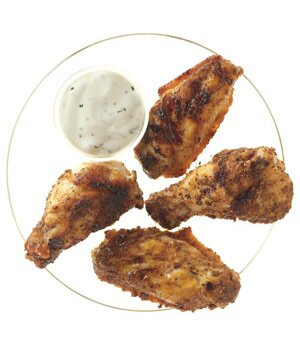 Simple 3 ingredient recipes real simple grilled spiced chicken wings forumfinder Image collections