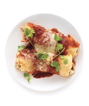 Chicken enchiladas recipe real simple chicken enchiladas forumfinder Choice Image