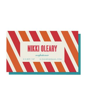 8 custom calling cards real simple minted candy stripe business cards colourmoves