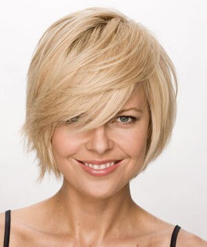 Stacked Layers In The Back And Textured Ends Throughout Help To Make This Bob Perfect Short Haircut For Thick Haired Women Who Want Feel Flirty