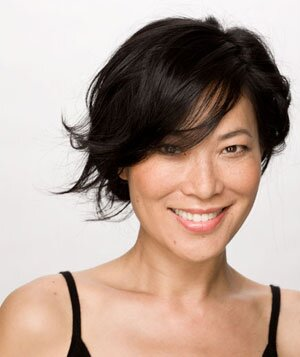 Sexy short hairstyles real simple smiling model with short black wispy haircut urmus Image collections