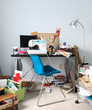 craft room ideas bedford collection. Cluttered Messy Desk Craft Room Ideas Bedford Collection