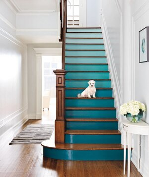 4 DIY Decorating Ideas for a Staircase | Real Simple
