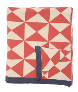 C Wind Farm Patterned Throw