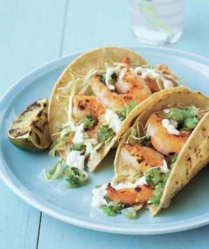 Easy mexican recipes real simple grilled shrimp tacos forumfinder Images