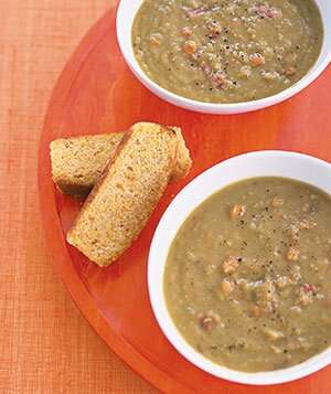 Slow-Cooker Smoky Pea Soup