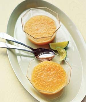 41 easy vegetarian recipes real simple chilled cantaloupe soup forumfinder Images