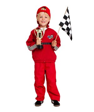 24 homemade kids halloween costumes real simple racecar driver costume solutioingenieria Choice Image