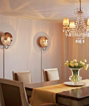 Well Lit Dining Room
