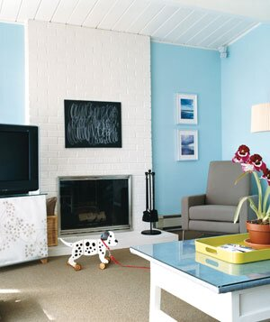 Living Room Makeover | Real Simple