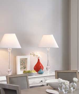 home lighting tips. A Pair Of Lamps On Side Table In Dining Room Home Lighting Tips