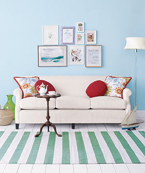 Decorating With Pillows decorating with throw pillows | real simple