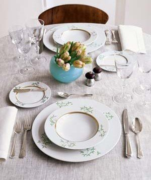 Where to register for your wedding real simple place setting for a special occasion dinner junglespirit Images