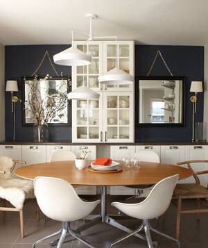 large round dining room table - Decorating Ideas Dining Room