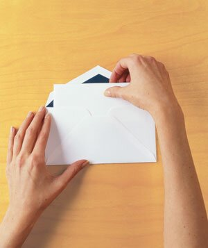 How to Fold a Business Letter