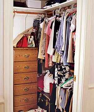 Quick And Easy Closet Makeover