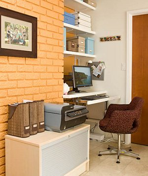 21 Ideas for an Organized Home Office Real Simple