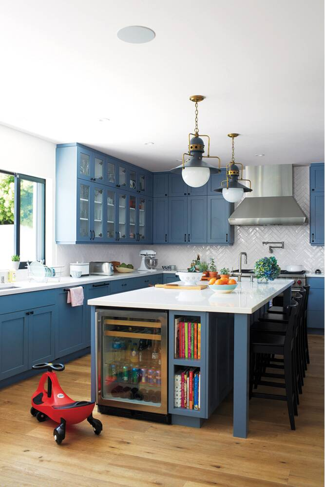 Blue Decor   Real Simple