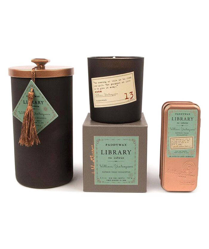 Affordable gifts for readers real simple shakespeare library candles negle Image collections