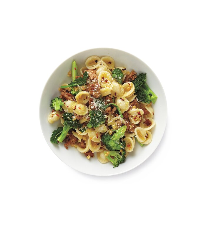 10 easy ground turkey recipes real simple pasta with turkey and broccoli one of real simples great recipes with ground turkey forumfinder Choice Image