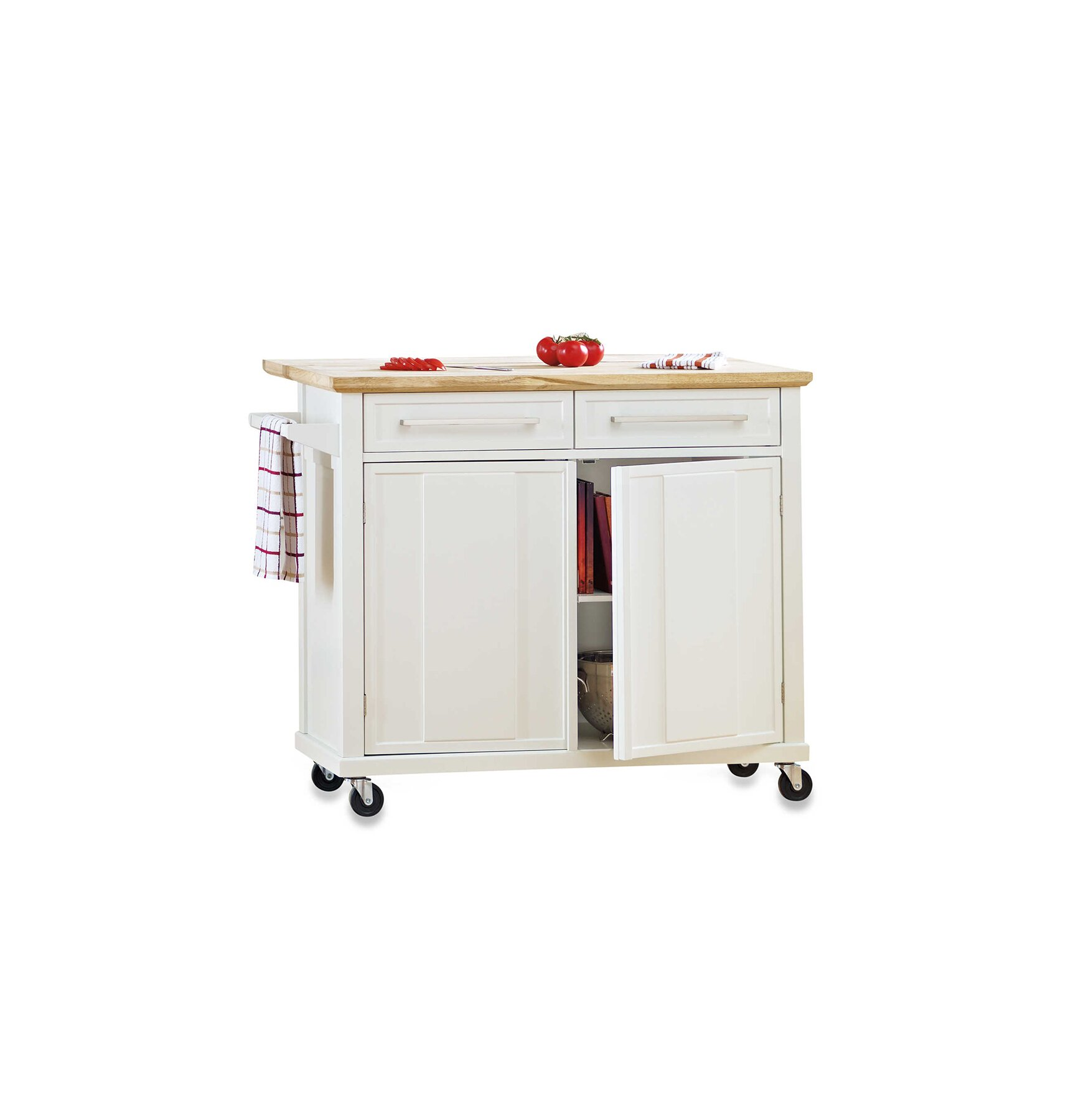 Portable Kitchen Islands Real Simple - Roll away kitchen island