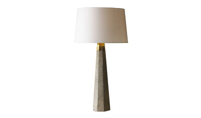 Concrete Column Table Lamp