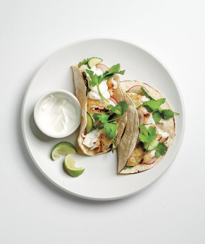10 easy tilapia recipes real simple tacos with cucumber relish and tilapia recipe forumfinder Image collections