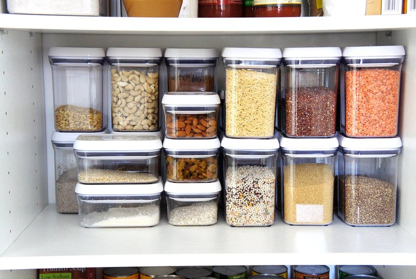 Rebeccas pantry after