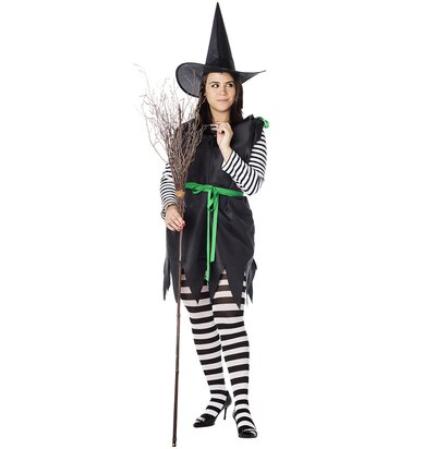 How To Make An Easy Diy Witch Costume Real Simple