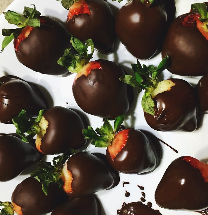 How To Make Chocolate Covered Strawberries Recipe And Video Real