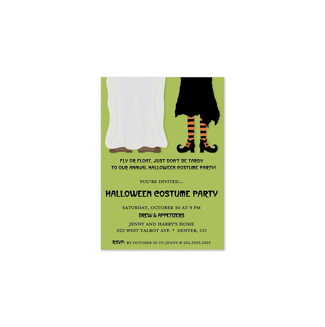 12 halloween party invitations real simple