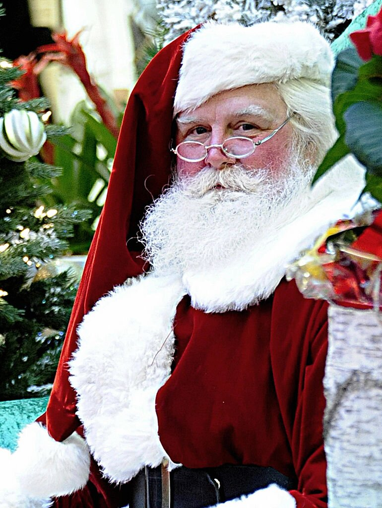 mall santa - What Does The Word Christmas Mean