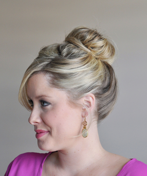 How To Make A Fancy Bun Real Simple