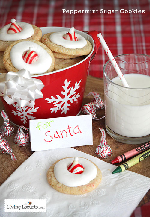 Santa Cookies And Treats That Are Almost Too Cute To Eat Real Simple