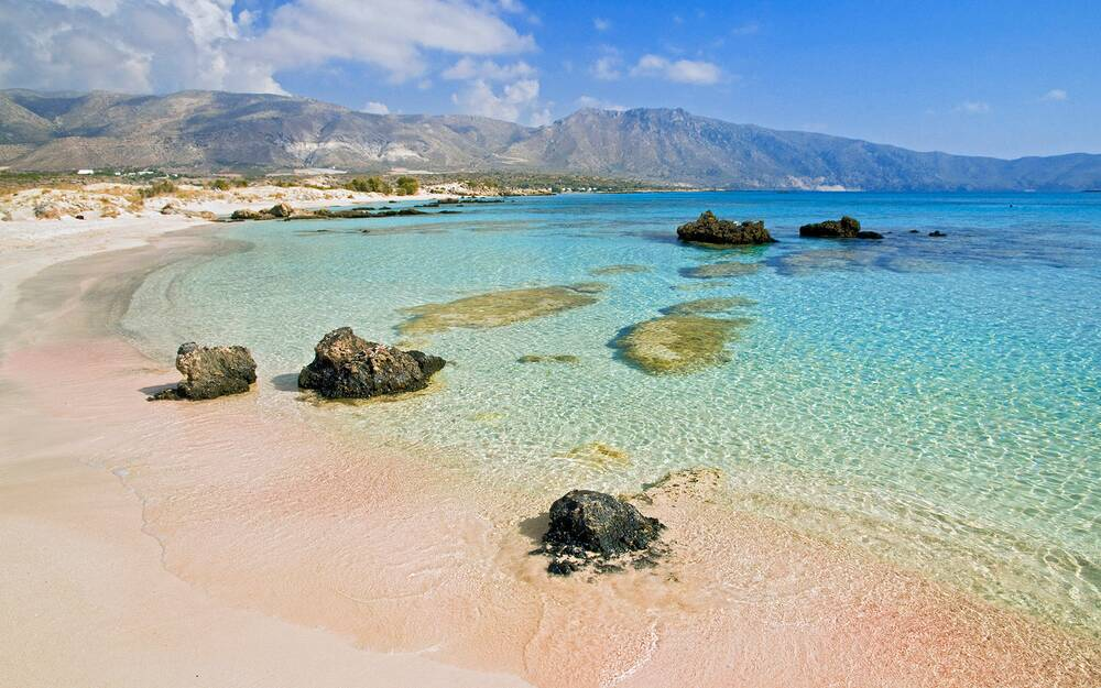 Elafonisi Beach Chania Crete Island Greece