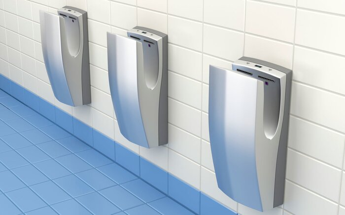 Jet Hand Dryers Spread Lots Of Viruses Travel Leisure - Bathroom hand dryer germs