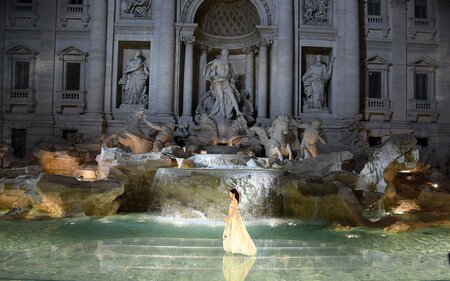 Fendi is Hosting a Fashion Show Inside Rome s Trevi Fountain ... 070e6f54fb7