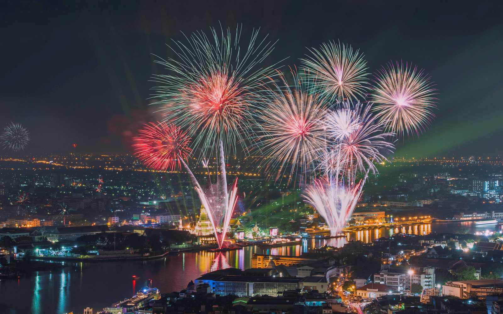 Bangkok Thailand New Year's Eve