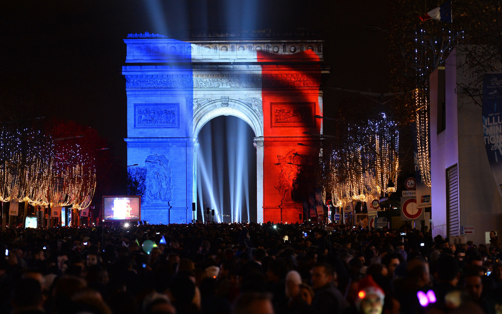 Paris France New Year's Eve