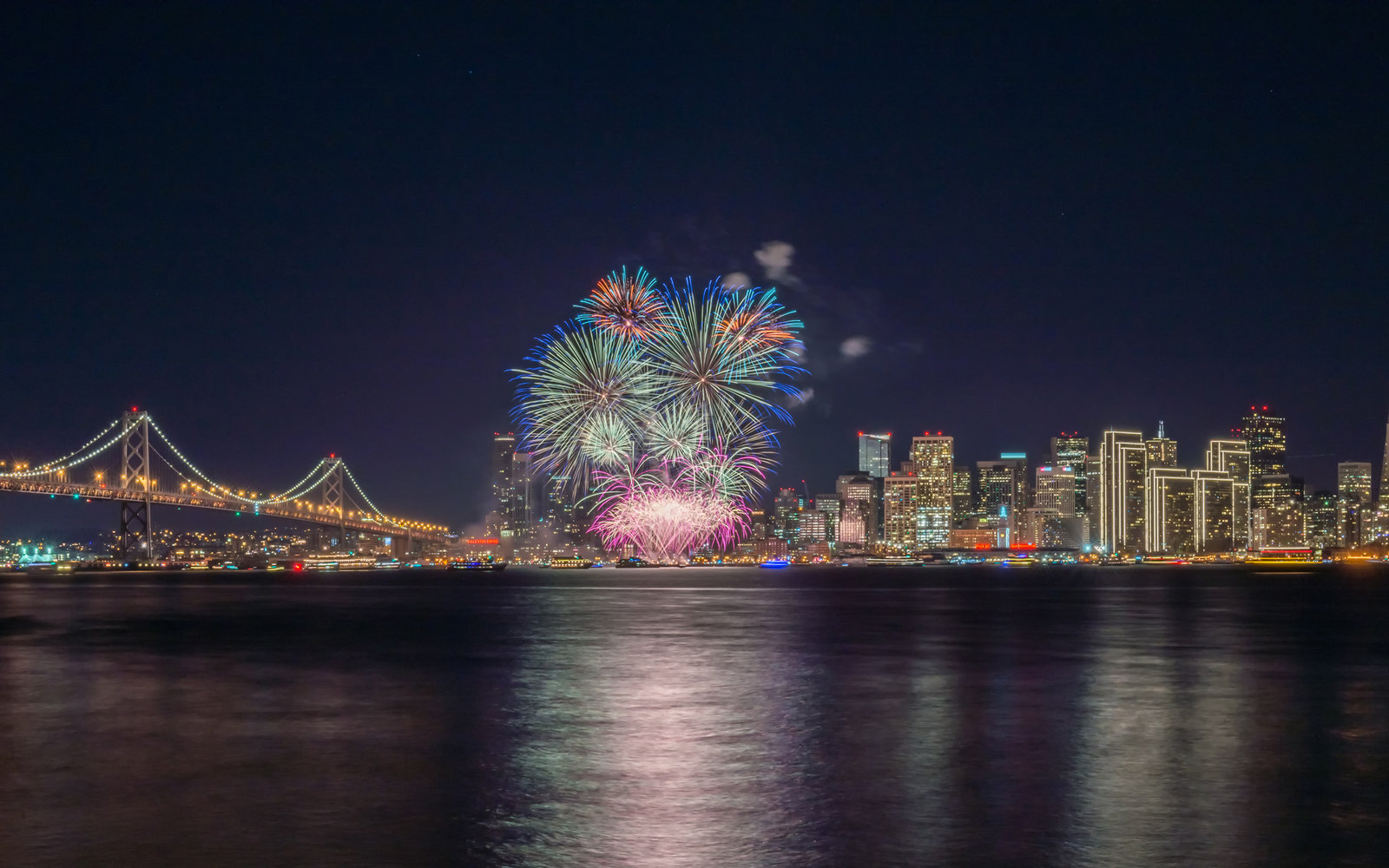 San Francisco California New Year's Eve