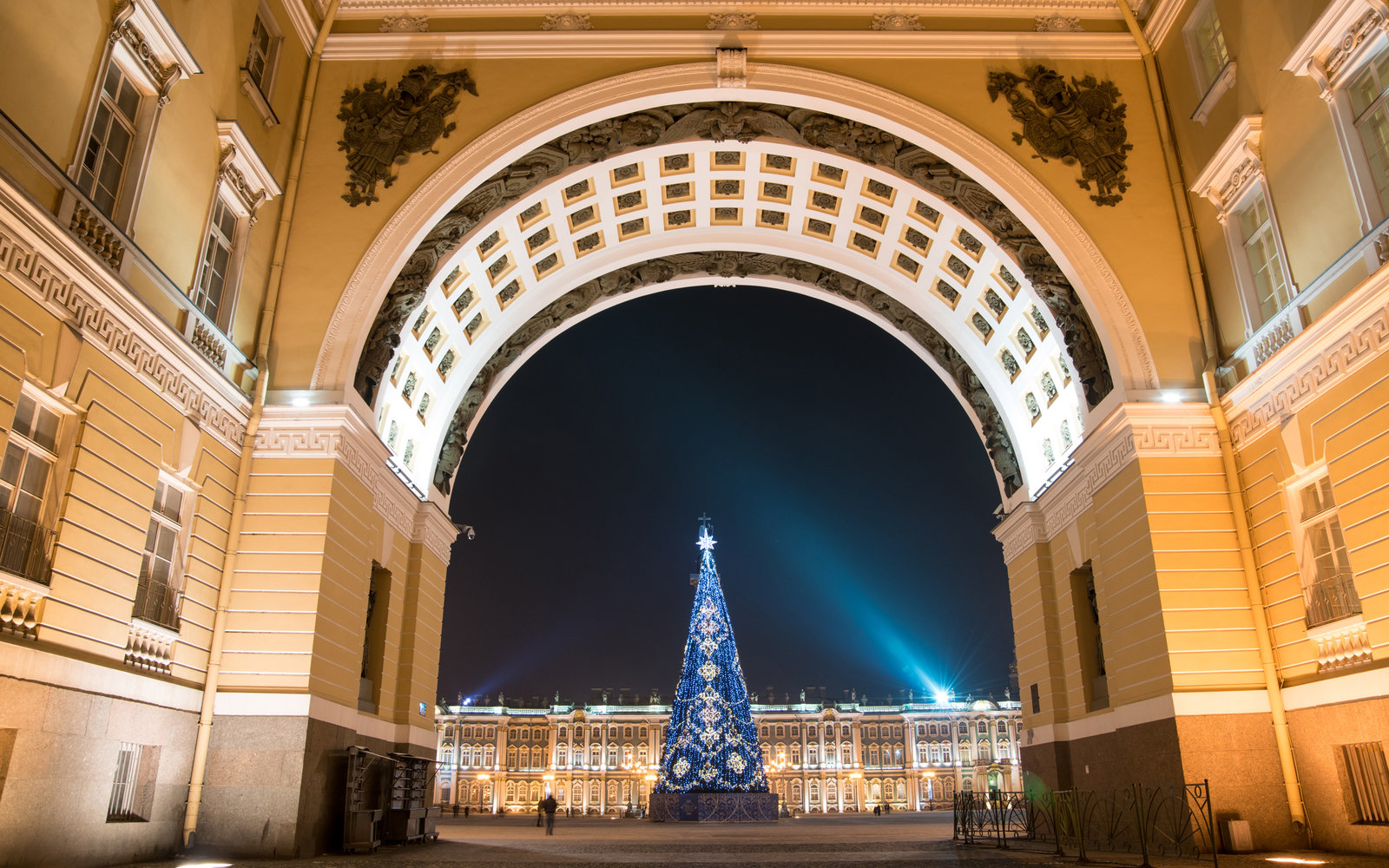 St. Petersburg Russia New Year's Eve