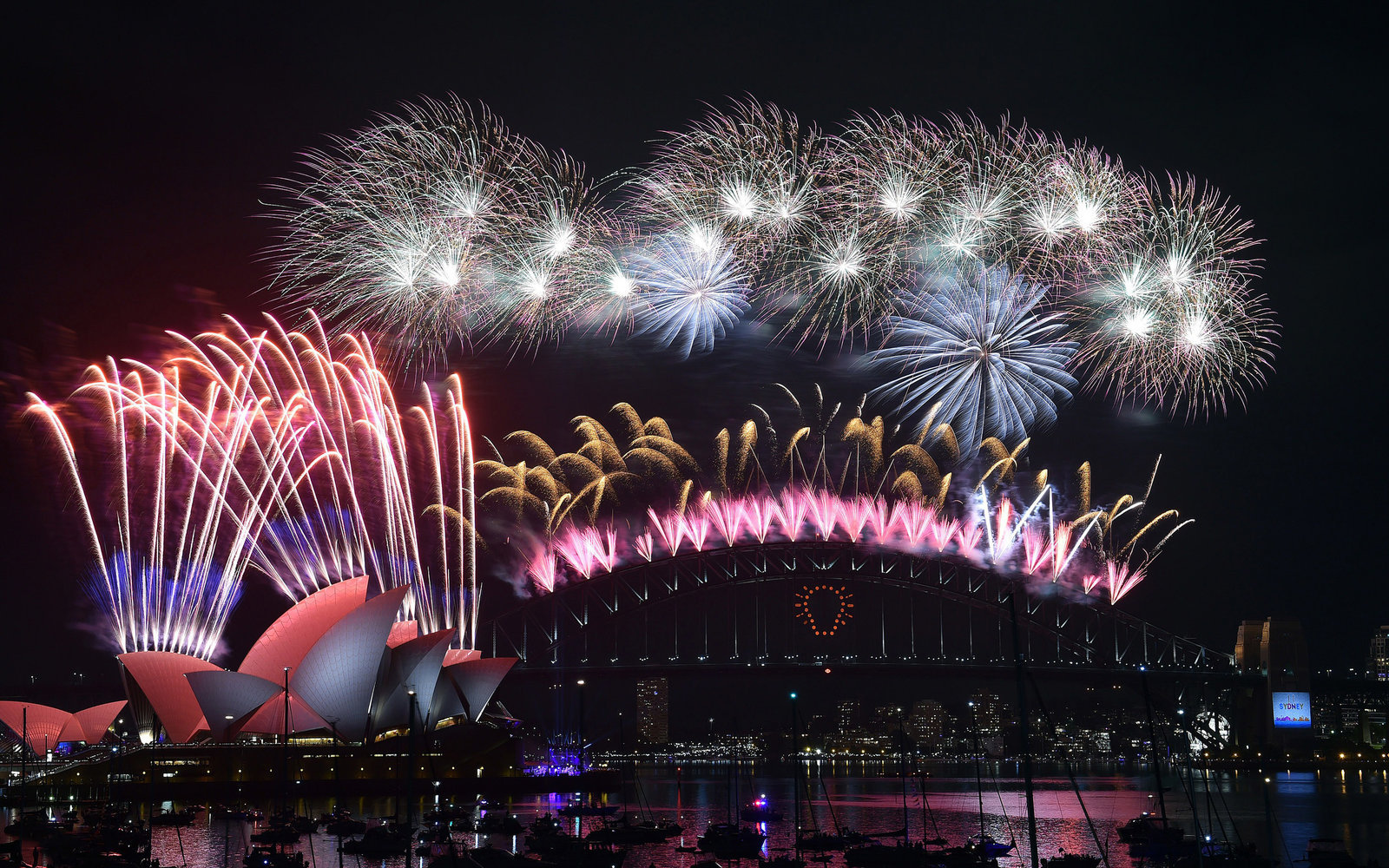 Sydney Australia New Year's Eve