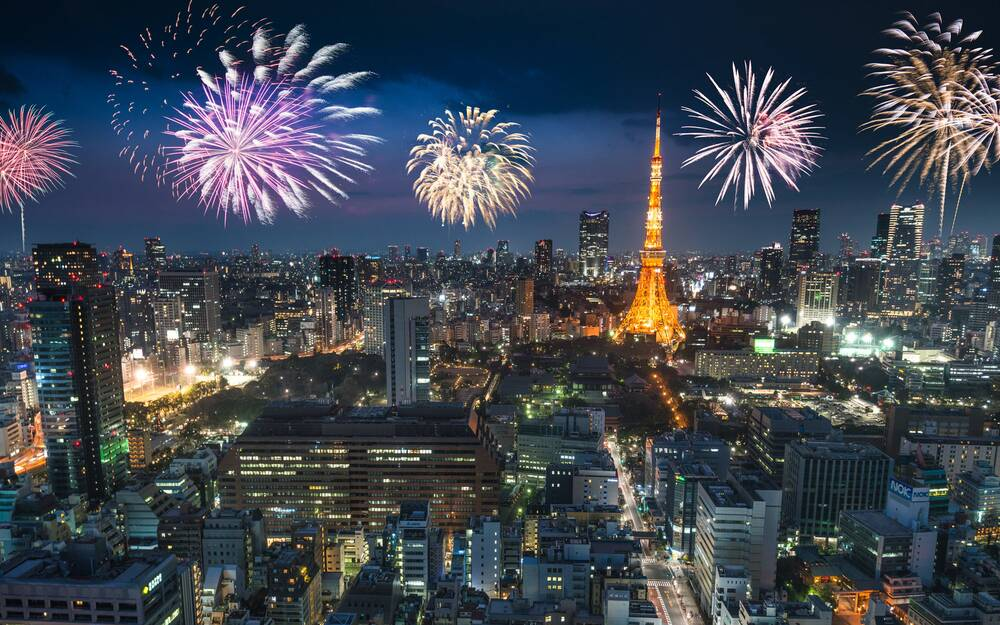 tokyo japan new years eve