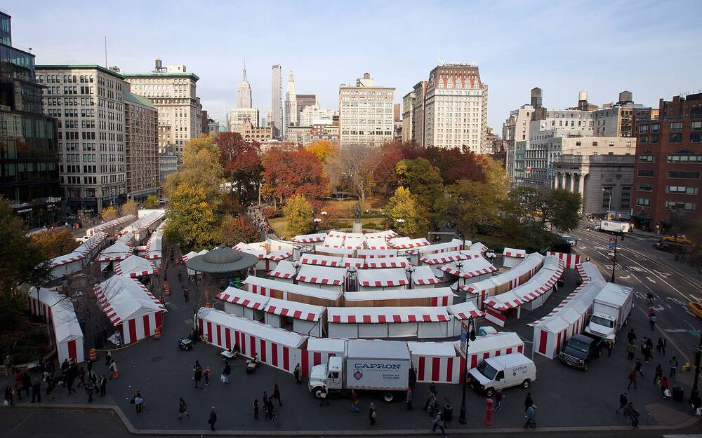 what to see at the union square christmas market travel leisure