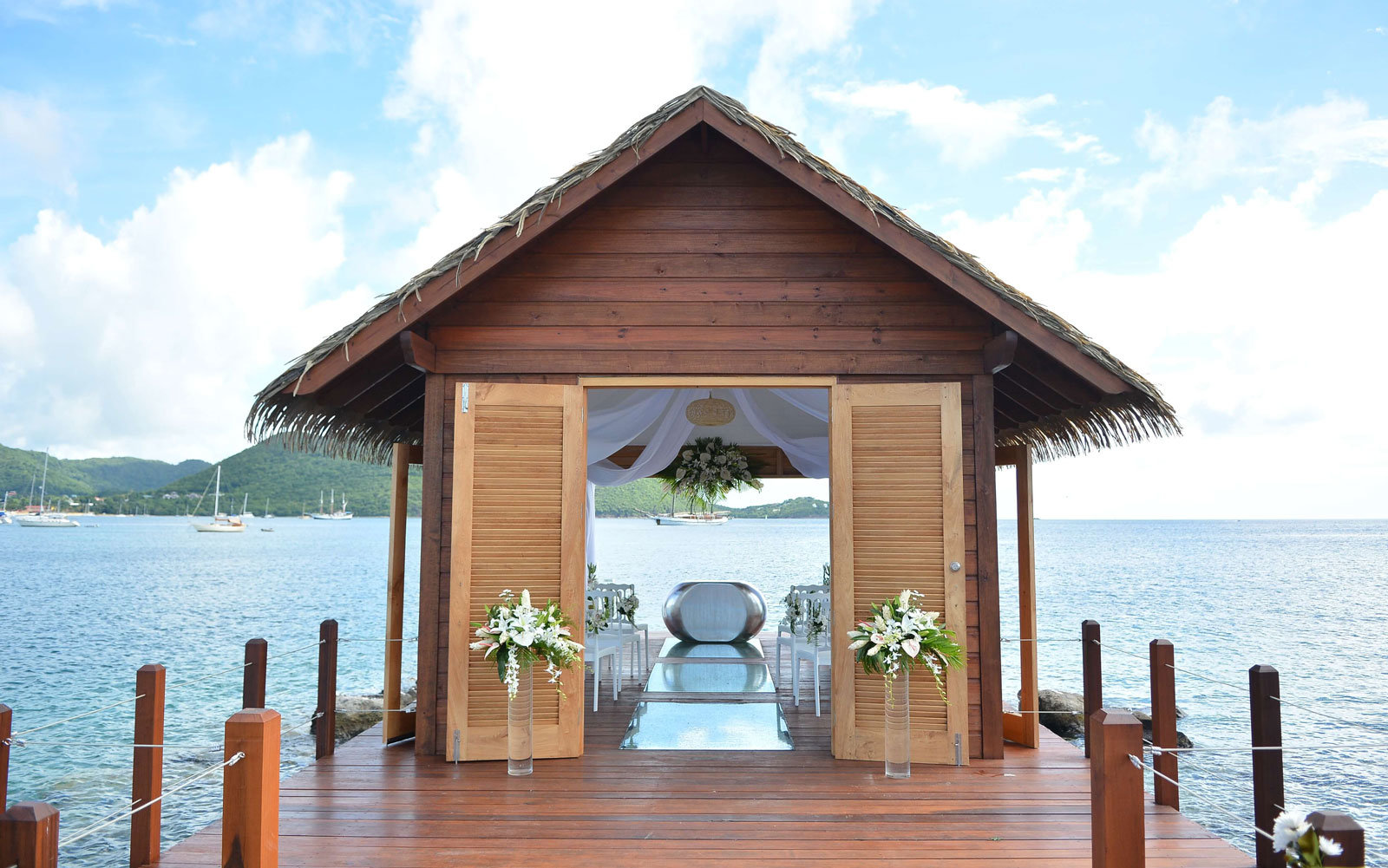 Get Married In An Overwater Chapel In St Lucia Travel Leisure
