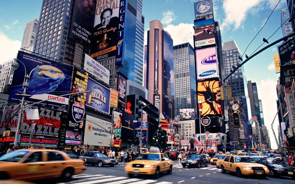 Image result for time square new york