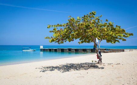 describe the weather on the caribbean island of jamaica