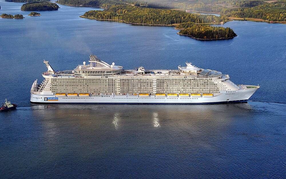 where is oasis of the seas now